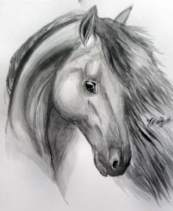Kolvattenislandshäst